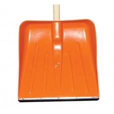 Magyar műanyag hólapát nyél nélkül narancs 40 cm