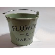 Flowers fém vödör