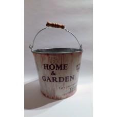 Home Garden  fém vödör